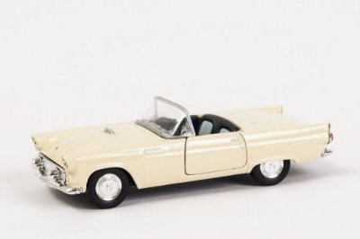 Miniatura Ford Thunderbird 1955 - Welly - 1:34