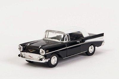Miniatura Chevrolet Bel Air 1957 - Welly - 1:34