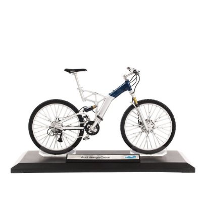 Miniatura Bicicleta Audi design Cross - Welly 1:10