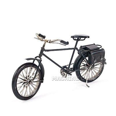 Miniatura Bicicleta Antiga com Alforges