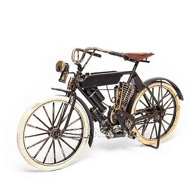 Harley-Davidson Antiga para Decoração