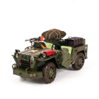 Miniatura Jeep Militar - US ARMY