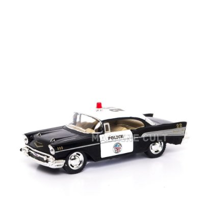 Miniatura Carro de Polícia - Chevrolet Bel Air 1957