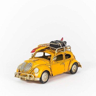 Fusca Amarelo - Miniatura
