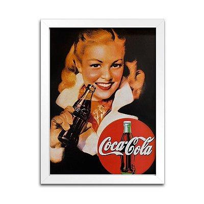 Quadro Coca-Cola para decoração - Anos 30