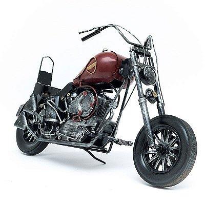 Miniatura Moto Kawasaki Vulcan Antiga