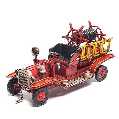 Miniatura Caminhão de Bombeiro