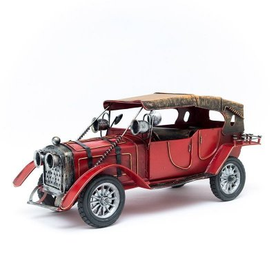 Miniatura Carro Antigo com Capota - Vermelho