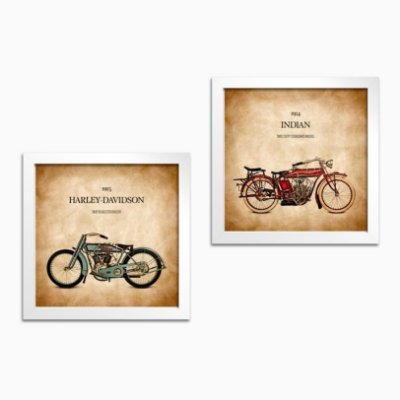 Kit Quadros Harley-Davidson & Indian Motorcycle