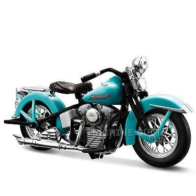 "Miniatura Moto Sons of Anarchy John Teller ""JT"" - 1946 Harley-Davidson FL Knucklehead - Maisto 1:18"