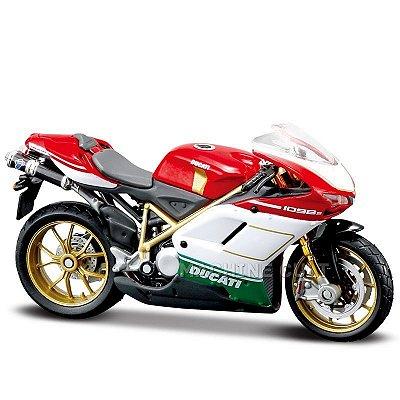 Miniatura Ducati 1098S Tricolore Maisto 1:18