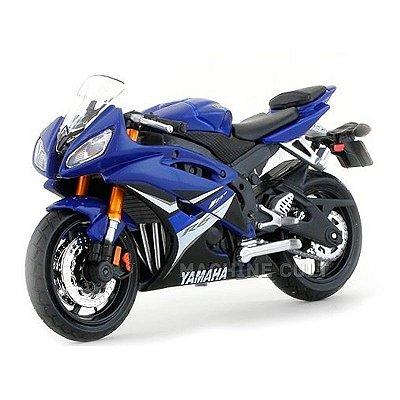 Miniatura Yamaha YZF-R6 Azul Maisto 1:18