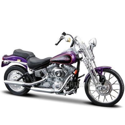 Miniatura Moto Harley-Davidson 2001 FXSTS Springer Softail Maisto 1:18