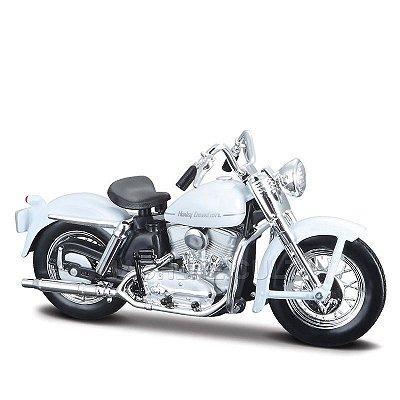 Miniatura Moto Harley-Davidson 1952 K Model Maisto 1:18