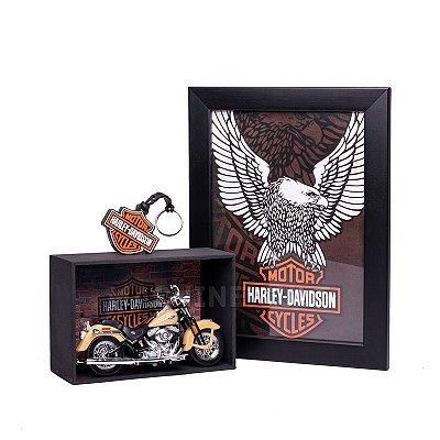 Miniatura Harley-Davidson 2005 FLSTCI Softail Springer Classic Maisto 1:18