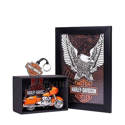 Miniatura Moto Harley-Davidson 2002 FLTR Road Glide Maisto 1:18