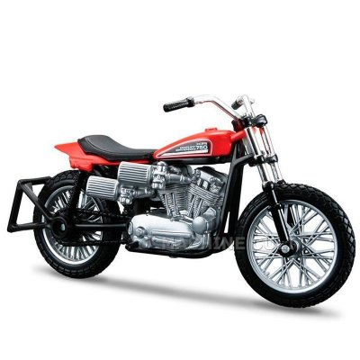 Miniatura Moto Harley-Davidson 1972 XR750 Racing Bike Maisto 1:18