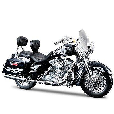 Miniatura Moto Harley-Davidson 2002 FLHRSEI CVO Custom Maisto 1:18