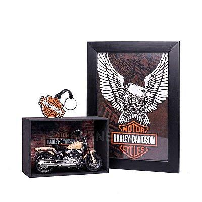Miniatura Moto Harley-Davidson 2008 FLSTSB Cross Bones Maisto 1:18