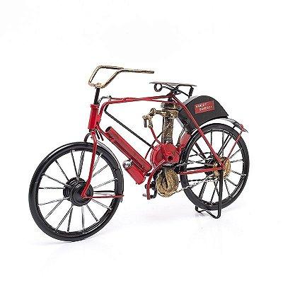 Miniatura Harley-Davidson 1903 Vermelha