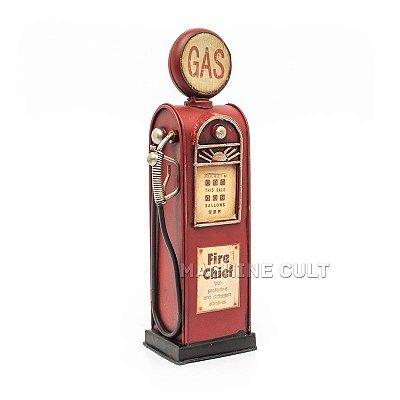 Miniatura Bomba de Gasolina Vintage