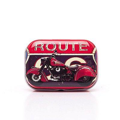 Lata Decorativa Motocicleta
