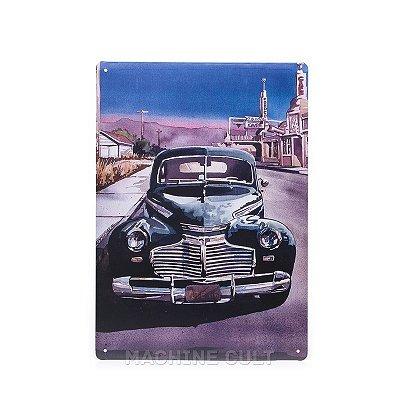 Placa Decorativa Carro Antigo