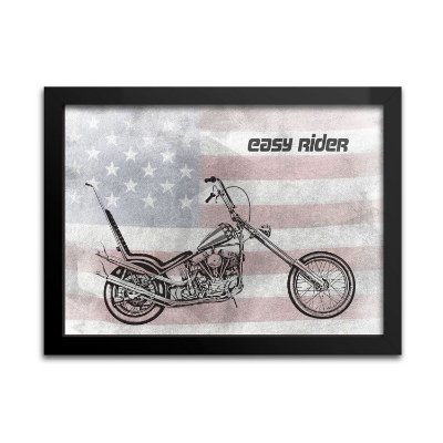 Quadro Easy Rider para Decoração