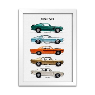 Quadro Carros - Muscle Cars