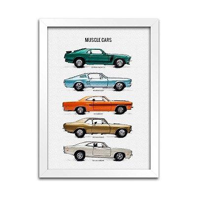 Quadro Carros - Muscle Cars