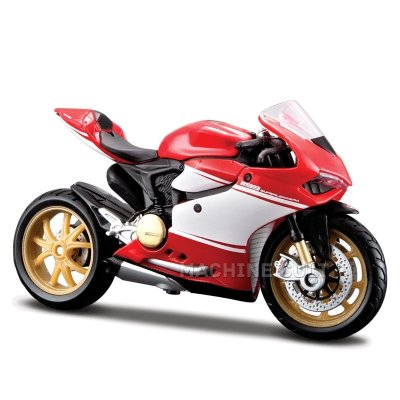 Miniatura Moto Ducati 1199 Superleggera 2014 1:18 Maisto