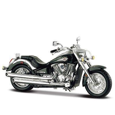 Miniatura Moto Kawasaki Vulcan - 1:18 Maisto