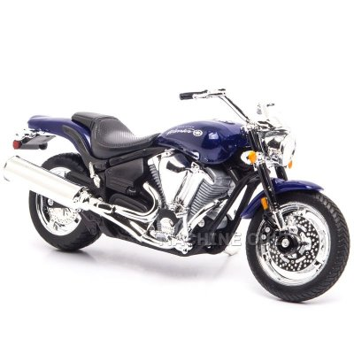 Miniatura Moto Yamaha Road Star Warrior 2002 - 1:18 Welly