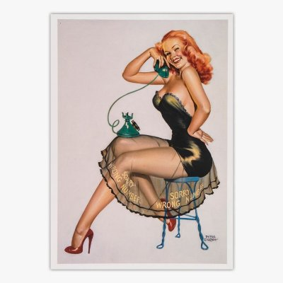 Cartão Postal Pin-Up - 1950 - Peter Driben