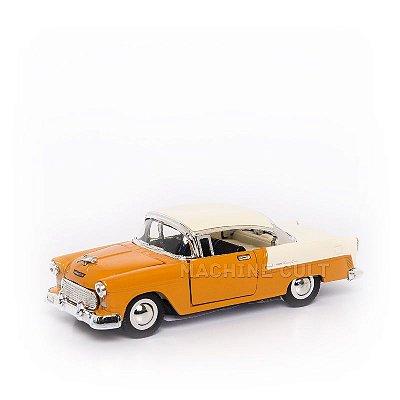 Miniatura Chevrolet Bel Air 1955 - Amarelo - 1:40