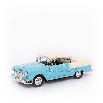 Miniatura Chevrolet Bel Air 1955 - Azul - 1:40