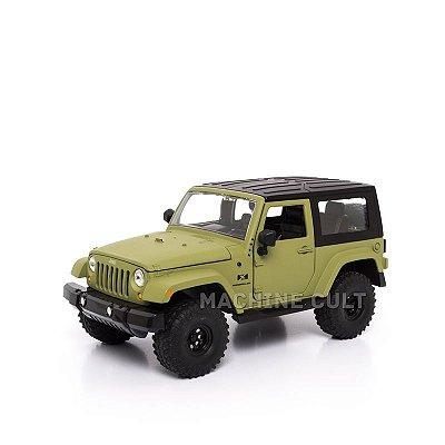 Miniatura Jeep Wrangler - Verde - Jada 1:24