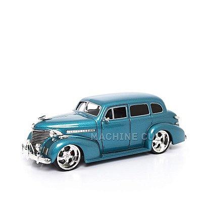 Miniatura Chevy Master Deluxe 1939 - Azul - Jada 1:24