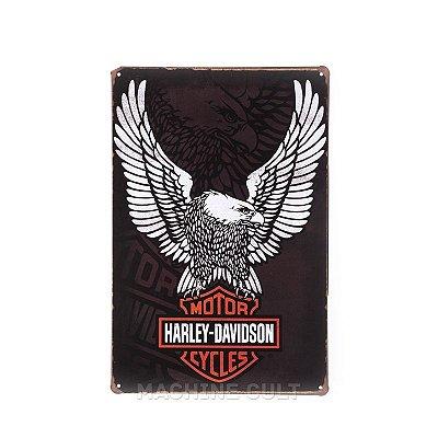 Placa Harley Davidson