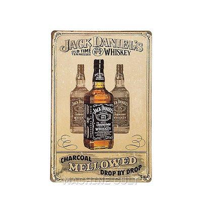 Placa Jack Daniel's Decoração