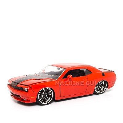 Miniatura Dodge Challenger SRT8 2008 - Vermelho - Jada 1:24