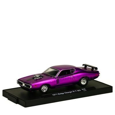 Miniatura 1971 Dodge Charger R/T 383 - M2 Machines 1:64