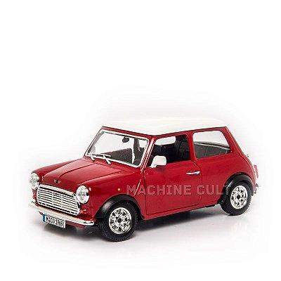 Mini Cooper Vermelho - Burago 1:24