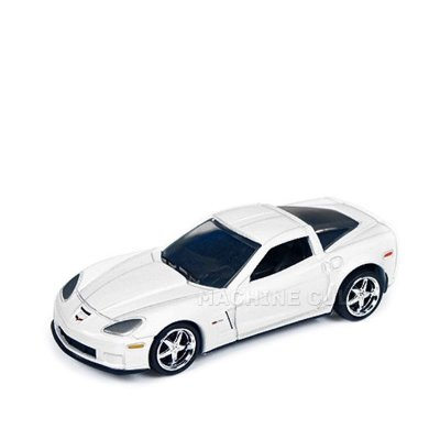 2012 Chevy Corvette Z06 Branco - Auto World 1:64