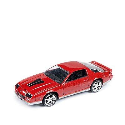 1984 Chevy Camaro Z28 Vermelho - Auto World 1:64
