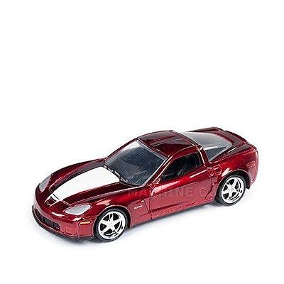 2012 Chevy Corvette Z06 Vermelho - Auto World 1:64