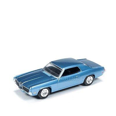 1970 Mercury Cougar Azul - Auto World 1:64