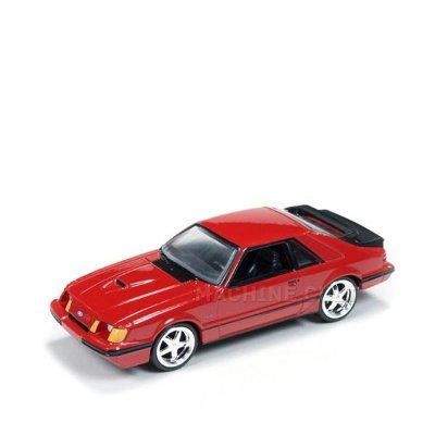 1984 Ford Mustang SVO Vermelho - Auto World 1:64