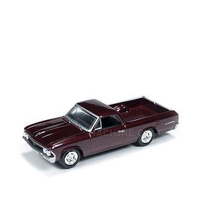 1966 Chevy El Camino Vinho - Auto World 1:64