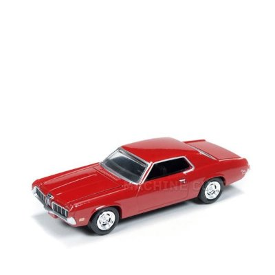 1970 Mercury Cougar Vermelho - Auto World 1:64
